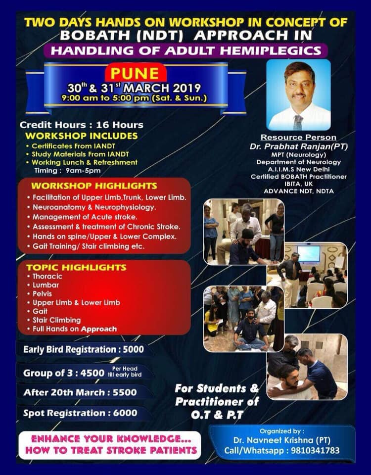 Coolphysiocom Events Ndtbobath Approach In Handling Of Adult