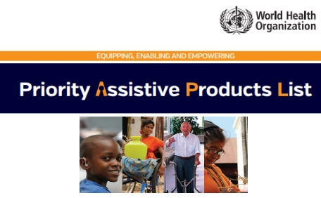 WHO Priority Assistive Products List