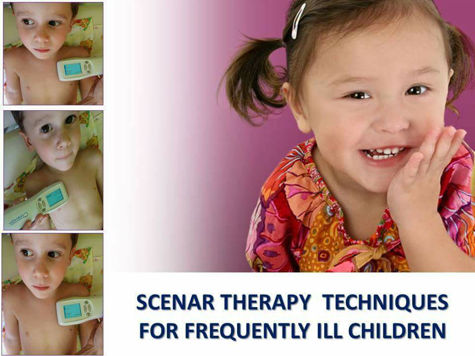 SCENAR THERAPY TECHNIQUES FOR FREQUENTLY ILL CHILDREN